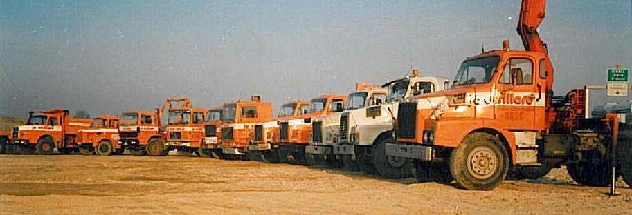 premiers camions ouest sablage