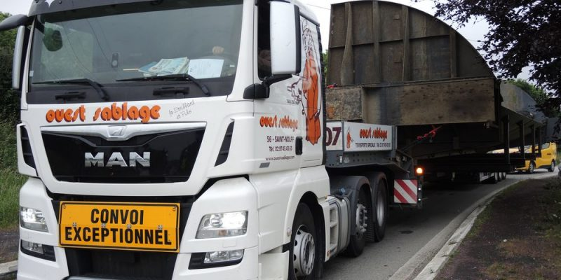transport routier vanne barrage